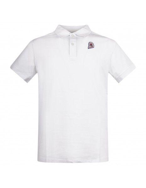 Invicta - Polo bianca manica corta con patch logo per uomo | 4452208/u 376