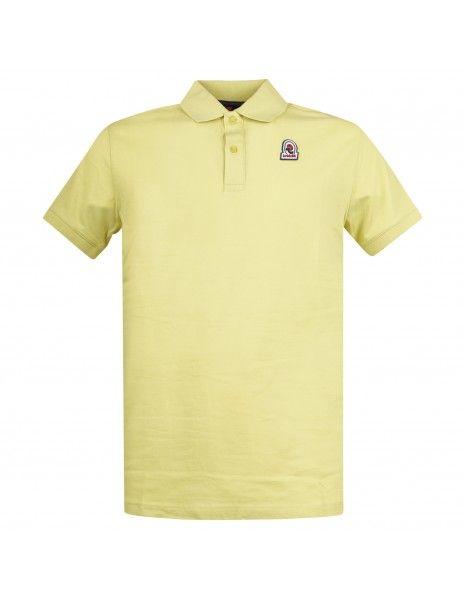 Invicta - Polo gialla manica corta con patch logo per uomo   4452208/u 02