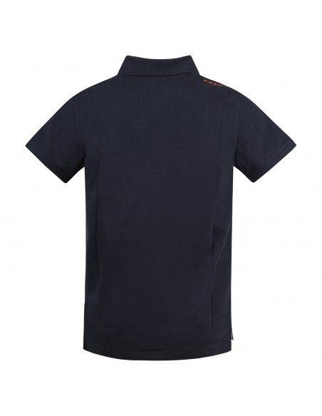 Invicta - Polo blu manica corta con patch logo per uomo | 4452208/u 730