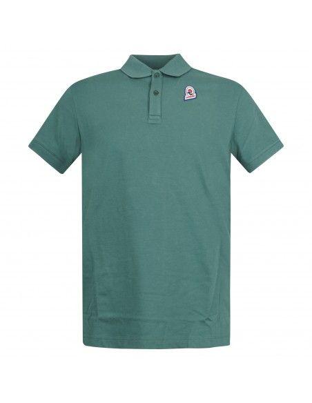 Invicta - Polo verde manica corta con patch logo per uomo | 4452208/u 04