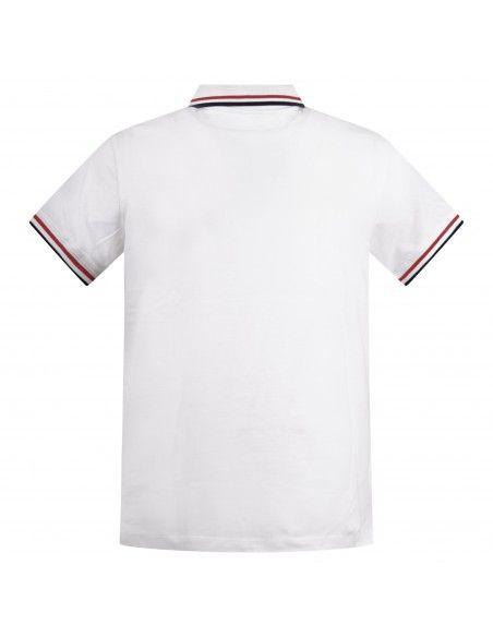 Invicta - Polo bianca manica corta con bordino per uomo | 4452202 u/376