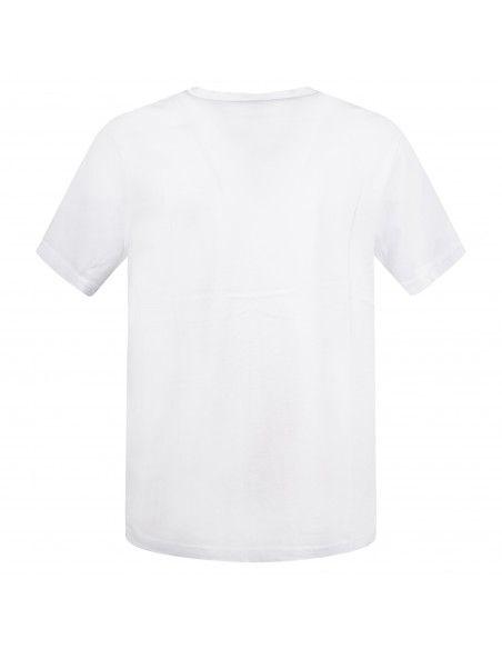 Pal Zileri - T-shirt bianca manica corta con taschino sul petto per uomo |