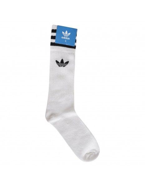Adidas Originals - Calzini bianchi in spugna tre paia per uomo | s21489