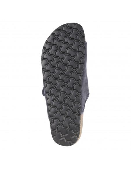 Natural World Eco - Sandali blu in cotone organico per uomo | 7001e-677 marino