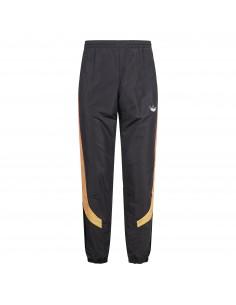 Pantalone tuta nero in tessuto tecnico