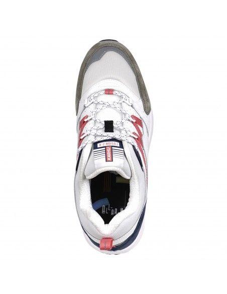 Karhu - Sneakers basse multicolore in camoscio e nylon per uomo | f804104