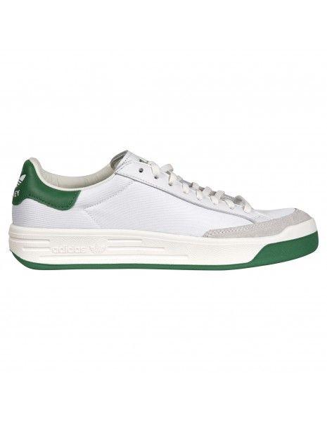 Adidas Originals - Sneakers multicolore in pelle con bordi verdi per uomo  