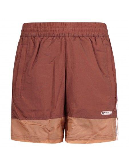 Adidas Originals - Bermuda multicolore con elastico e coulisse interna per uomo