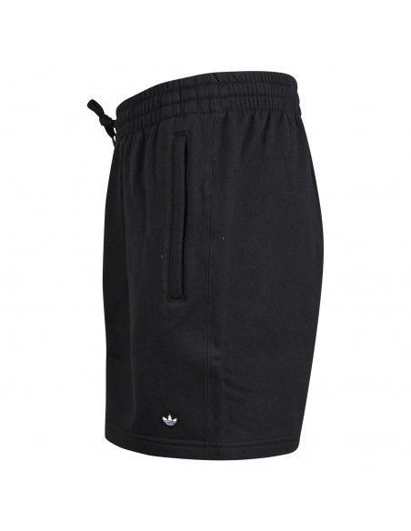 Adidas Originals - Bermuda nera con coulisse in cotone per uomo | gn3366