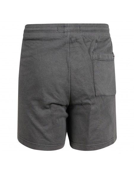 Tommy Jeans - Bermuda grigia in cotone tasca a filo com logo gommato per uomo |