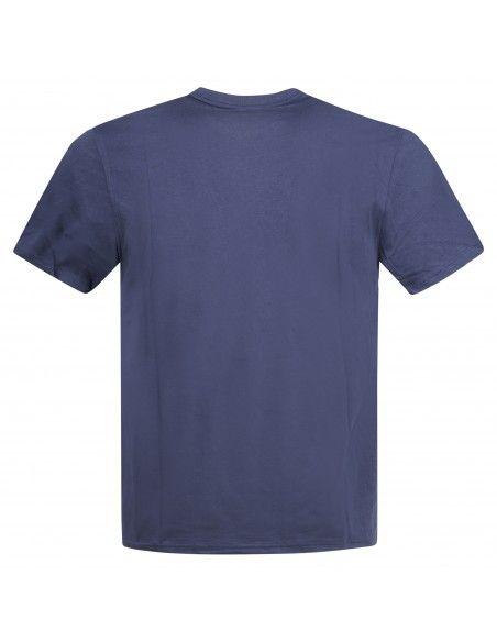 Polo Ralph Lauren - T-shirt blu con logo ricamato sul petto per uomo  