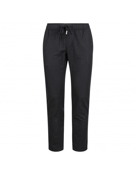 Tommy Jeans - Pantalone nero con elastico in vita per uomo   dm0dm09665 bds