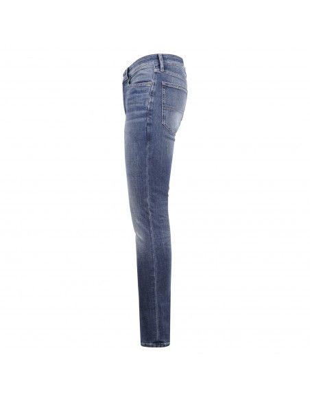 Tommy Jeans - Jeans cinque tasche lavaggio medio per uomo   dm0dm107921a5