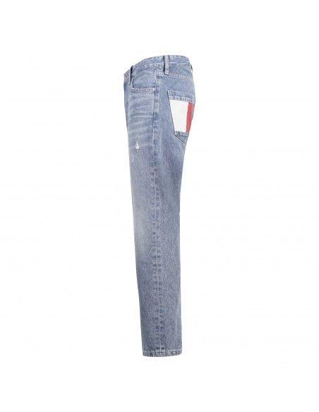 Tommy Jeans - Jeans cinque tasche lavaggio light per uomo | dm0dm107961ab