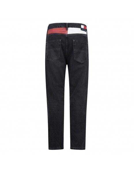Tommy Jeans - Jeans nero cinque tasche per uomo | dm0dm108151bz