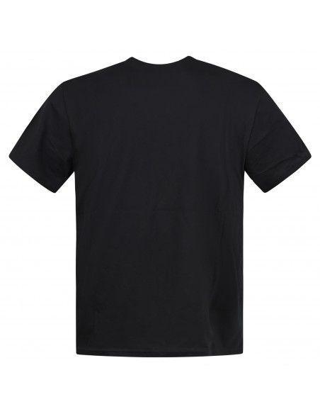 Polo Ralph Lauren - T-shirt nera con logo ricamato sul petto per uomo  