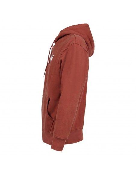 Levi's - Felpa rossa cappuccio con logo sul petto per uomo | 38479-0064