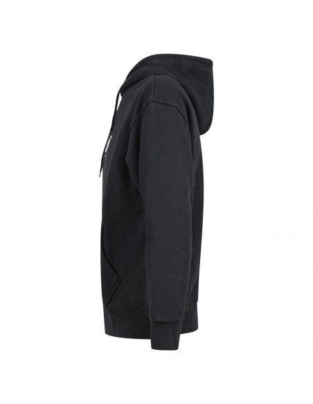 Levi's - Felpa nera cappuccio con logo sul petto per uomo | 38479-0039