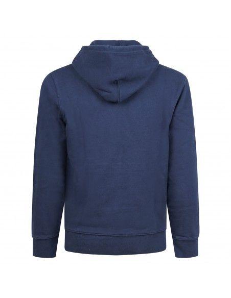 Levi's - Felpa blu cappuccio con ricamo logo sul petto per uomo | 34581-0009