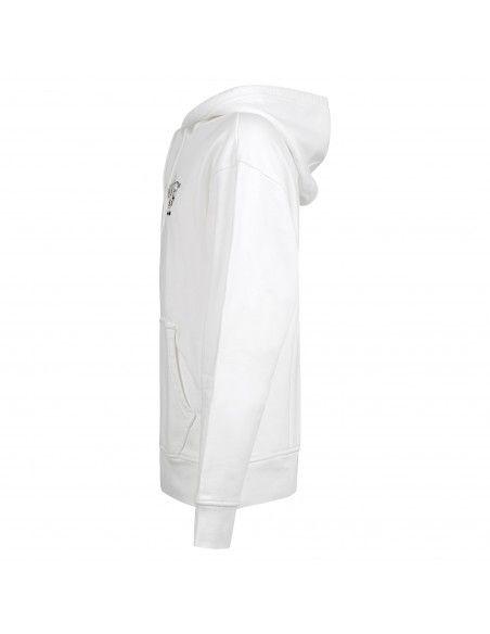 Levi's - Felpa bianca cappuccio con stampa logo per uomo   38479-0057