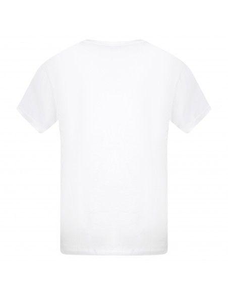 Levi's - T-shirt bianca manica corta con stampa logo per uomo   87373-0017