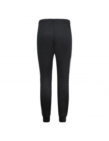 Adidas Originals - Pantalone tuta nero con tre strisce per uomo | gf0210