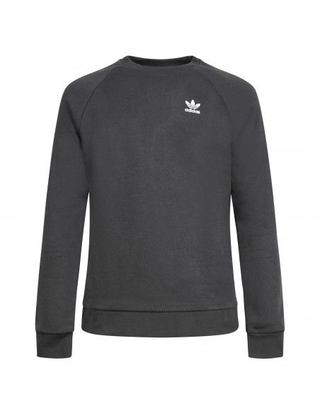 Adidas Originals - Felpa nera girocollo per uomo | h34645