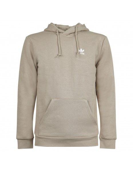 Adidas Originals - Felpa beige con cappuccio e logo per uomo | h34647