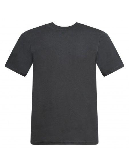 Adidas Originals - T-shirt nera con logo ricamato per uomo   gn3416