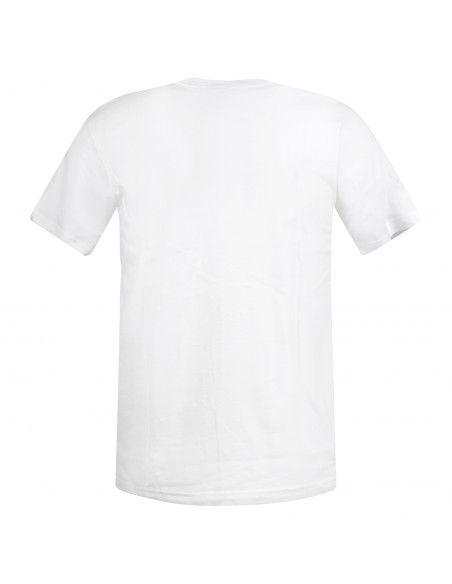 Adidas Originals - T-shirt bianca con logo ricamato per uomo | gn3415