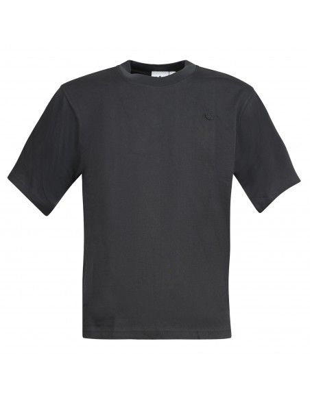 Adidas Originals - T-shirt nera con peach logo per uomo   h09172