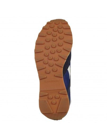 Reebok - Sneakers blu con logo per uomo   gx2457