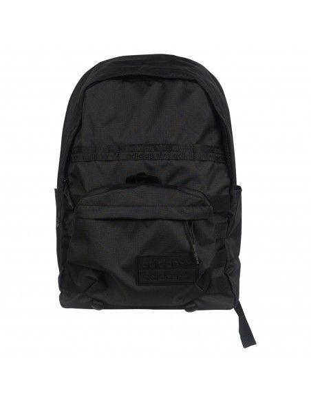 Adidas Originals - Zaino nero classico con peach logo per uomo | h32459