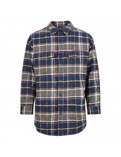 Levi's - Giubbotto a camicia quadrettoni per uomo | a0682-0000