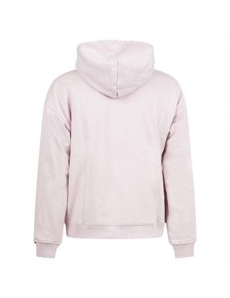 Levi's - Felpa rosa cappuccio con ricamo logo sul petto per uomo | a0747-0015