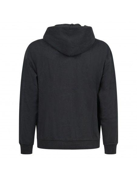Levi's - Felpa nera cappuccio con ricamo logo sul petto per uomo | a0747-0006