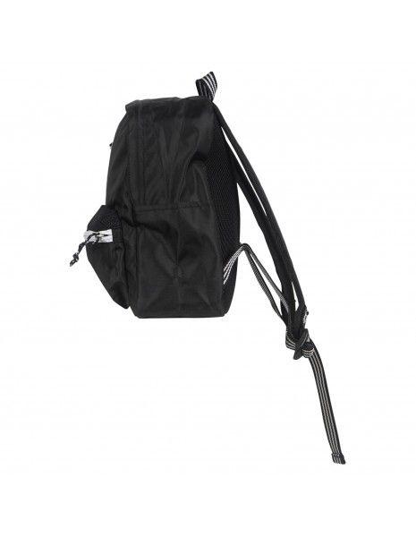 Adidas Originals - Zaino nero classico con tre strisce per uomo | h35546