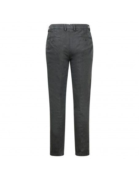 Luca Bertelli - Pantalone grigio tasca a filo regular per uomo | p1701louis