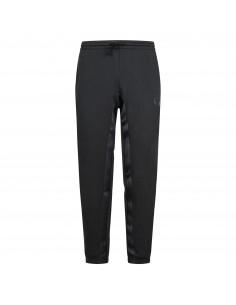 Pantalone tuta nero con striscia logata