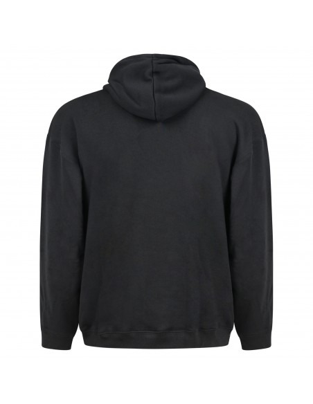 Adidas Originals - Felpa nera con cappuccio per uomo | h11479