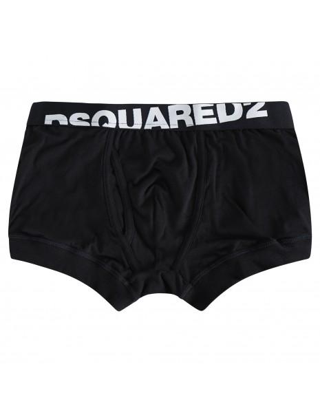 Dsquared2 - Boxer neri con elastico per uomo | dcxc60040 001
