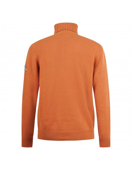 Roy Roger's - Dolcevita arancio lavorato per uomo   m5929