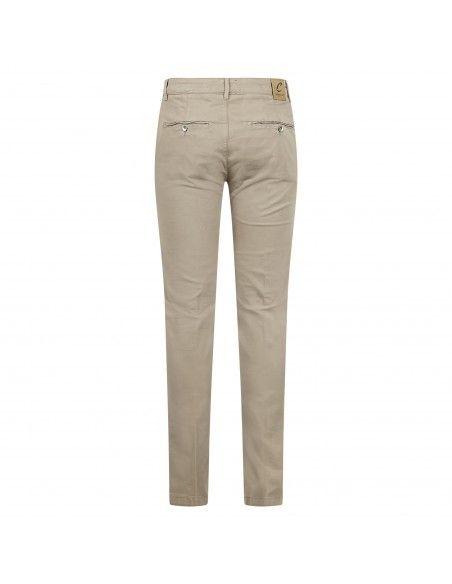 Camouflage - Pantalone beige tascha a filo per uomo   ai21pcup077n28std b