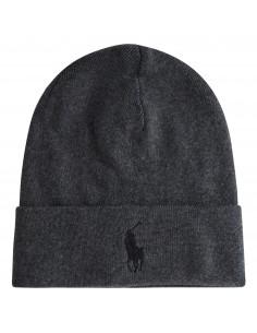 Cappello grigio in cotone