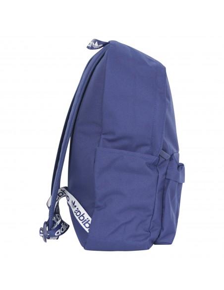 Adidas Originals - Zaino blu classico con logo centrale per uomo | h35597